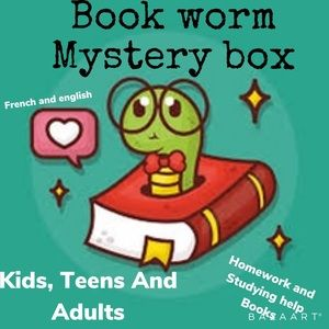 Book worm mystery box (kids-adults)